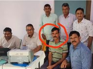 रुपयों के लेन-देन के मामले को रफा-दफा करने के लिए 20 हजार रुपए मांगे,5 हजार रुपए लेते पकड़ा गया|चूरू,Churu - Money Bhaskar