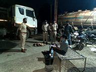 7 टैंकर जब्त, हर एक गाड़ी में 40 टन तेजाब था; प्रदेश की सीमा से सटे राज्यों से लाकर कर रहे थे तस्करी|इंदौर,Indore - Money Bhaskar