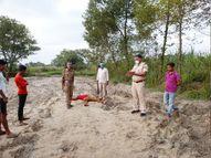 मॉर्निंग वॉक पर निकले लोगों को पंडई नदी किनारे दिखी लाश, अपराधियों ने धारदार हथियार से की हत्या|बेतिया (पश्चिमी चंपारण),Bettiah (West Champaran) - Money Bhaskar