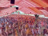 पं. नागर ने कहा बलवान व्यक्ति भी जीवन में एक बार कमजोर होता है|मनावर,Manawar - Money Bhaskar