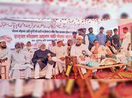 मानवता की रक्षा के लिए जब कभी अमीर आवाज देंगे, मुंगेर की आवाम उनके साथ खड़ी होगी : शमसी मुंगेर,Munger - Money Bhaskar
