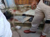 गली में बहते खून ने खोला वारदात का राज, नाजायज संबंध का शक बना पति-पत्नी की मौत की वजह रायपुर,Raipur - Money Bhaskar