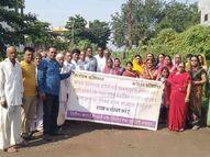 धैर्यशील नगर के लोगों का जवाब दे गया धैर्य, मूलभूत सुविधाएं नहीं मिलने से नाराज|बुरहानपुर,Burhanpur - Money Bhaskar
