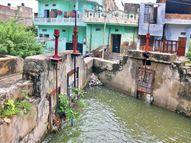 मानसागर की 8 किमी. टूटी नहर सही कर दें तो 50 गांवों का भूजल स्तर सुधर जाए, शहर बाढ़ से बच जाए, फसलें ना उजड़ें|जयपुर,Jaipur - Money Bhaskar