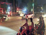टोंक रोड पर ट्रैफिक पुलिसकर्मी अब सेंटर पॉइंट पर खड़े होकर यातायात संभालेंगे|जयपुर,Jaipur - Money Bhaskar