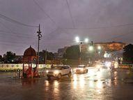 35.8 डिग्री से 26.8 डिग्री पर आया दिन का पारा अब रात में बढ़ेगी ठंड ग्वालियर,Gwalior - Money Bhaskar