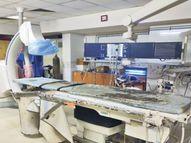 सुपर स्पेशिएलिटी अस्पताल में अब नवंबर से होगी एंजियोग्राफी|इंदौर,Indore - Money Bhaskar