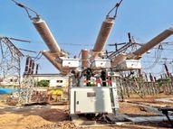 शहर में लगाया गया नई तकनीक का ट्रांसफॉर्मर, 50% जगह कम लगी, बिजली सप्लाई भी सुधरेगी|इंदौर,Indore - Money Bhaskar
