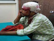 स्कूटी से आए युवकों ने सगे भाइयों पर किया जानलेवा हमला, चाकू लहराते हुए भागे|भोपाल,Bhopal - Money Bhaskar