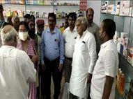 मुख्यमंत्री ने दुर्ग के नलघर शॉपिंग कॉम्प्लेक्स में श्री धनवंतरी जेनेरिक मेडिकल स्टोर की शुरुआत की|भिलाई,Bhilai - Money Bhaskar