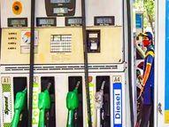 जयपुर में 113.38 रुपए पेट्रोल और 104.58 रुपए प्रति लीटर डीजल की पहुंची कीमत, 85 डॉलर प्रति बैरल के पार पहुंच क्रूड ऑयल|जयपुर,Jaipur - Money Bhaskar