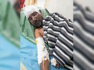 फर्नेस में उबलता लोहा गिरने से मजदूर की मौत पटियाला,Patiala - Money Bhaskar