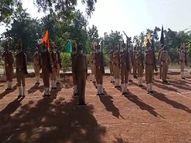 कलेक्टर-एसपी सहित अन्य अधिकारियों ने किया शहीदों का सम्मान|दतिया,Datiya - Money Bhaskar