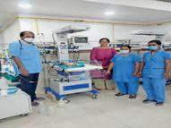 36 घंटे डटे रहे डॉक्टर, 24 दिन के बच्चे की सफल डायलिसिस|भिलाई,Bhilai - Money Bhaskar