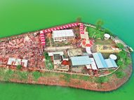 462 साल में दूसरी बार नहीं लगा मेला, फिर भी हजारों भक्त सिंगाजी पहुंचे...|खंडवा,Khandwa - Money Bhaskar