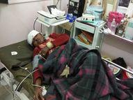 सिर पर आई गंभीर चोट, मुंह-हाथ पर नोंचा, चिल्लाने पर लोग मौके पर आए तो जंगल में भागा राजस्थान,Rajasthan - Money Bhaskar