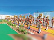 शहीदों को पुष्प अर्पित किए, साइकिल यात्रा का किया स्वागत|सरदारपुर,Sardarpur - Money Bhaskar