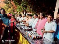 पं. द्विवेदी ने कहा कालरात्रि, महारात्रि और माेहरात्रि का शास्त्राें में विशेष महत्व है|बागली,Bagli - Money Bhaskar