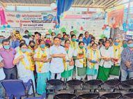 देश में 100 करोड़ लाेगाें काे टीकाें का मनाया जश्न, जिलें में 15.41 % लाेगाें ने नहीं लगवाया टीका|बदनावर,Badnawar - Money Bhaskar