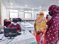 राजधानी में 99% लोगों को पहला डोज 35 लाख टीके का लक्ष्य, लगे 26 लाख|रायपुर,Raipur - Money Bhaskar