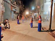 बड़ा गणपति से कृष्णपुरा के बीच कार्रवाई अब दिवाली बाद, तीन दिन में साफ कर देंगे धूल, पूरे रोड पर लाइट भी लगाएंगे|इंदौर,Indore - Money Bhaskar