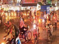 शहर का यह ऐसा चौराहा, जहां एक साथ दो सिग्नल ग्रीन, वाहन होते हैं गुत्थमगुत्था|इंदौर,Indore - Money Bhaskar