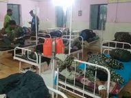 खैरागढ़ के नक्सल मोर्चे पर तैनात हैं ITBP और CAF जवान, सिविल अस्पताल में भर्ती राजनांदगांव,Rajnandgaon - Money Bhaskar