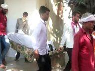 फंदा लगाकर किया सुसाइड तो शव उतार ले गए हॉस्पिटल, मृतका के पिता ने लगाया दहेज हत्या का आरोप|करौली,Karauli - Money Bhaskar