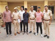 मोबाइल व्यापारी की 10 दिन पहले पीट-पीट कर हत्या कर दी थी, मरने से पहले बताए थे हत्यारों के नाम|जयपुर,Jaipur - Money Bhaskar