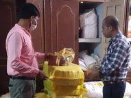 कलर मिलाकर बना रहे थे मसाला, कार्रवाई कर 2 लाख रुपए कीमती 70 क्विंटल मसाला जब्त किया|सागर,Sagar - Money Bhaskar