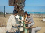 एबी रोड बायपास पर अवैध रूप से हो रही थी बायोडीजल की बिक्री, पंप किया सील|सेंधवा,Sendhwa - Money Bhaskar