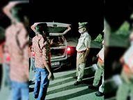 एसपी ने राजस्थान समेत पंजाब बाॅर्डर के नाके जांचे सिरसा,Sirsa - Money Bhaskar