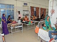 बुखार से 4 दिन में ठीक हो रहे लेकिन कमजोरी से नहीं उबरे बच्चे, इलाज जारी|सागर,Sagar - Money Bhaskar