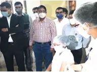 कोरोना लसीकरणाचे ड्रायरन सुरू; एका व्यक्तीला लस घेण्यासाठी लागतात पाच मिनिटे|नंदुरबार,Nandurbar - Divya Marathi