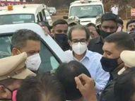 मुख्यमंत्री उद्धव ठाकरेंना करावा लागला प्रकल्पग्रस्तांच्या संतापाचा 'सामना' नागपूर,Nagpur - Divya Marathi