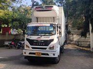 कोरोनाच्या 60 हजार लसी औरंगाबादेत दाखल, चार जिल्ह्यांचा साठा उतरवला|औरंगाबाद,Aurangabad - Divya Marathi