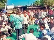42 लाखांचा लिलाव अन् ग्रामसभेचा बनाव; लाखमाेलाच्या खाेंडामळीत महिला मात्र बेनाम...|नंदुरबार,Nandurbar - Divya Marathi