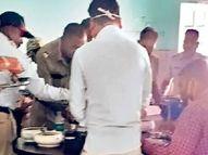 मृत्यूच्या दारात निर्लज्जांचा 'भंडारा', विश्रामगृहावर शिजले कोंबडे, मासे, झिंगे नागपूर,Nagpur - Divya Marathi