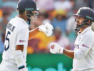 वाॅशिंग्टनची पदार्पणात सुंदर खेळी, 3 बळींसह अर्धशतक; शार्दूल चमकला, भारताने पहिल्या डावात 336 धावा काढल्या क्रिकेट,Cricket - Divya Marathi