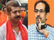 रामभक्तांना भिकारी म्हणता, शिवसेनेचे हे कसले हिंदुत्व? भाजप आमदार राम कदम यांचा सवाल|मुंबई,Mumbai - Divya Marathi