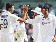 भारताने इंग्लंडला 317 धावांनी केले पराभूत, पहिल्याच टेस्टमध्ये 5 विकेट घेणारा अक्षर बनला 6 वा गोलंदाज क्रिकेट,Cricket - Divya Marathi
