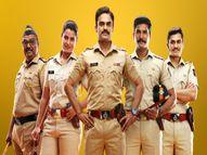 महाराष्ट्र पोलिसांचं चातुर्य आणि साहसाची गोष्ट सांगणारी मालिका 'नवे लक्ष्य', आदेश बांदेकरांचा मुलगा करतोय पदार्पण|मराठी सिनेकट्टा,Marathi Cinema - Divya Marathi