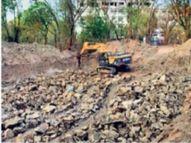 स्व. बाळासाहेब ठाकरे स्मारकाचे काम 'जैसे थे' ठेवण्याचे खंडपीठाचे आदेश, दैनिक दिव्य मराठीच्या पुढाकारातून सुरू झाली हाेती 'प्रियदर्शिनी उद्यान' बचाव मोहीम|औरंगाबाद,Aurangabad - Divya Marathi