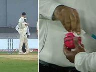 स्ट्रोक्सने बॉलवर लावली लाळ; अंपायरचा इशारा- अजून दोनदा असे केल्यास भारताच्या खात्यात 5 धावा जाणार स्पोर्ट्स,Sports - Divya Marathi