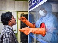 24 तासांत 18 राज्यांमध्ये बरे होणाऱ्यांपेक्षा नवीन रुग्ण जास्त आढळले; महाराष्ट्रात 4 महिन्यानंतर विक्रमी संक्रमितांची नोंद देश,National - Divya Marathi