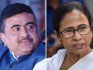 भाजपने पहिल्या आणि दुसऱ्या टप्प्यासाठी 57 उमेदवारांची केली घोषणा, नंदीग्राममध्ये ममता आणि शुभेंदु यांच्यात लढत देश,National - Divya Marathi