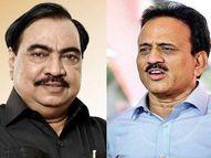 ईडीने नोटीस बजावली की एकनाथ खडसेंना कोरोना होतो, माजी मंत्री गिरीश महाजन यांची टीका|जळगाव,Jalgaon - Divya Marathi
