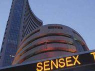 बाजारात घसरण झाल्यामुळे गुंतवणूकदारांचे 9 लाख कोटी बुडाले, सेन्सेक्स 2 महिन्यांनंतर 1700 अंकांनी घसरून 48 हजारांच्या खाली बिझनेस,Business - Divya Marathi