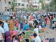 फसलेेला पांडेय पॅटर्न, झोपलेेली महापालिका अन् आयुक्त सुस्त; नियम धाब्यावर, मोकाट जनता मस्त|औरंगाबाद,Aurangabad - Divya Marathi