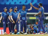 राे'हिट'चा विक्रम, मुंबई विजयी; हैदराबादची पराभवाची हॅट्ट्रिक|IPL 2021,IPL 2021 - Divya Marathi
